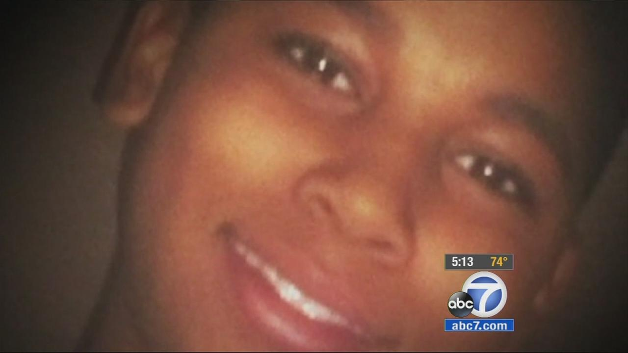 Tamir Rice is seen in this undated file photo. He was shot and killed by a Cleveland police officer who mistook his toy gun for a real gun in November 2014.