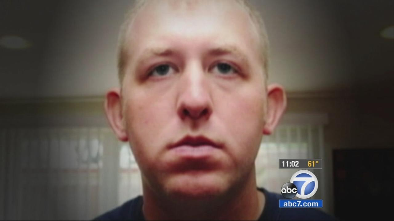 Darren Wilson, the former Ferguson police officer who shot and killed Michael Brown, is seen in this file photo.