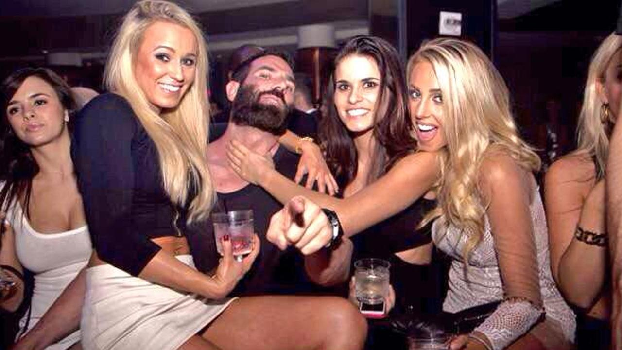 Dan Bilzerian, the so-called King of Instagram, is seen in a photo from his account.