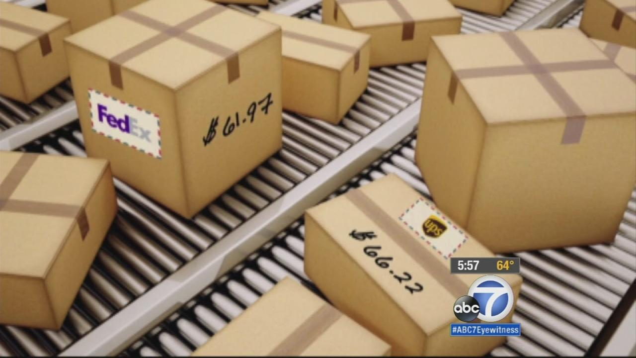 A Consumer Reports survey showed that more than half of customers complained of high shipping fees, damaged items and late packages during the holidays.