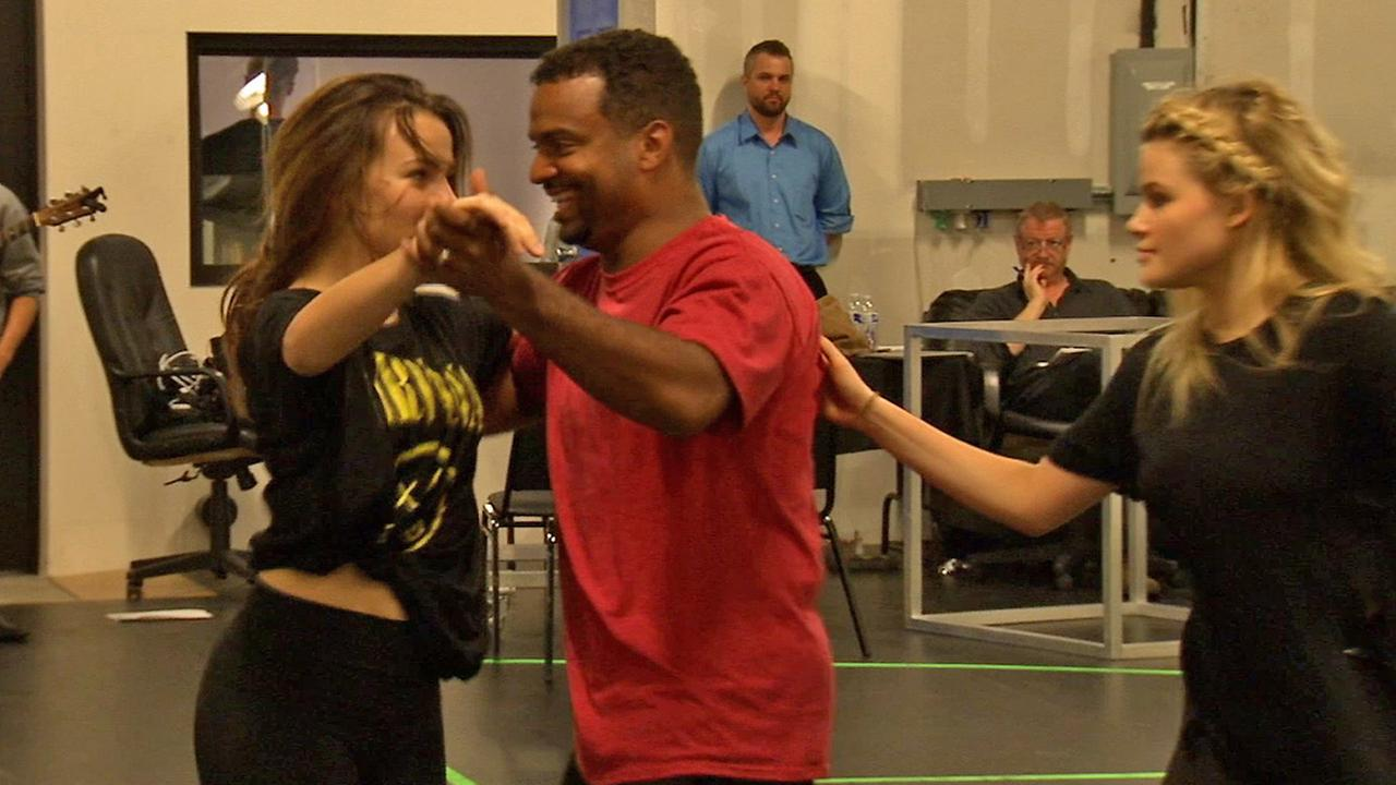Alfonso Ribeiro practices for the Dancing With The Stars Live tour.