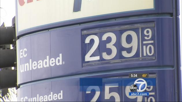 Gas Prices In California >> California Gas Prices Going Up January 1 Due To Cap And Trade