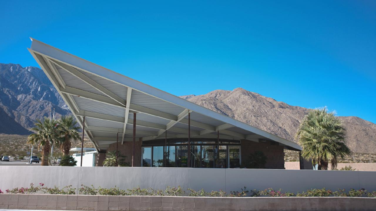 The Palm Springs Visitor Center is shown in this undated file photo.