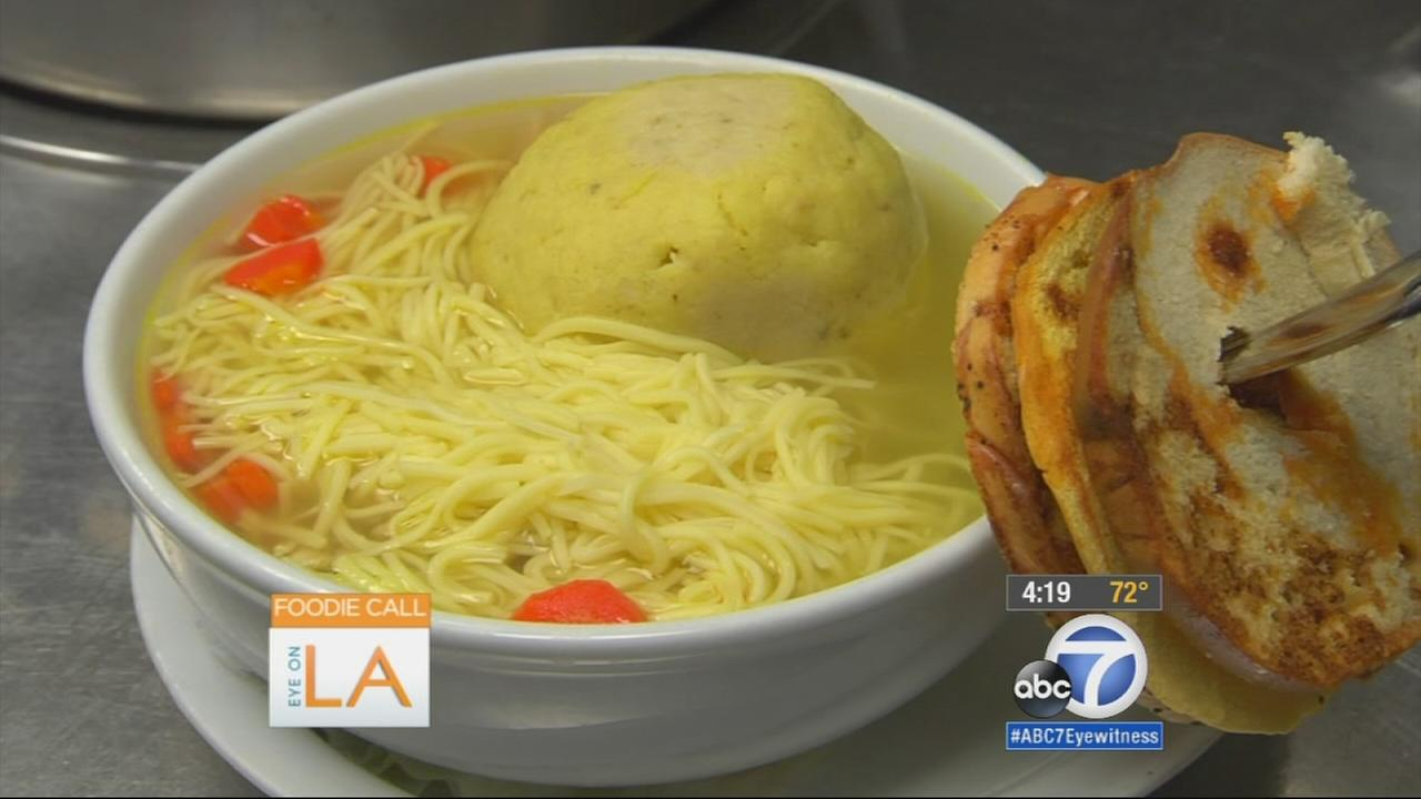 Eye on L.A. host Tina Malave checks out restaurants that offer some of the best soups in town for those who feel sick or just want a warm, hearty meal.