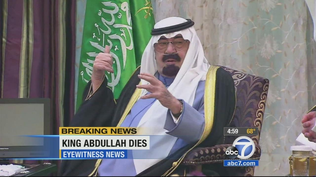 Saudi state TV says King Abdullah, the powerful U.S. ally who joined Washingtons fight against al Qaeda and sought to modernize the ultraconservative Muslim kingdom has died.