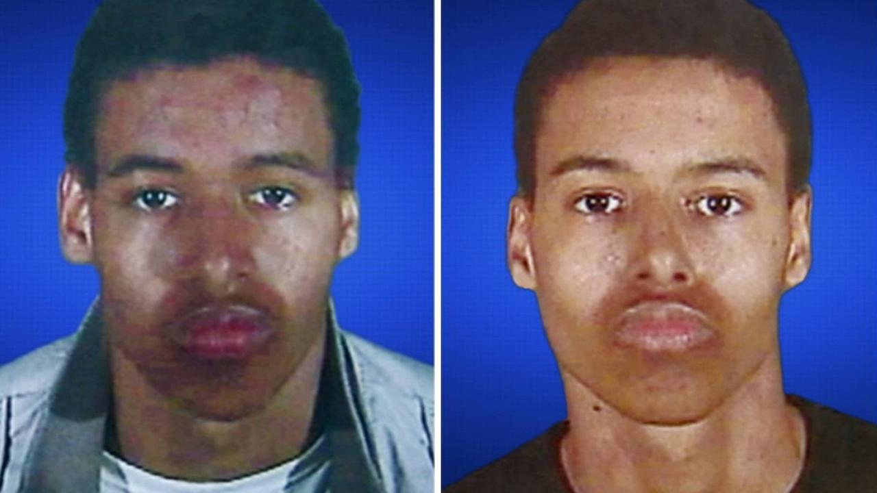 Kenyata Blake (left). Keishon Blake (right).
