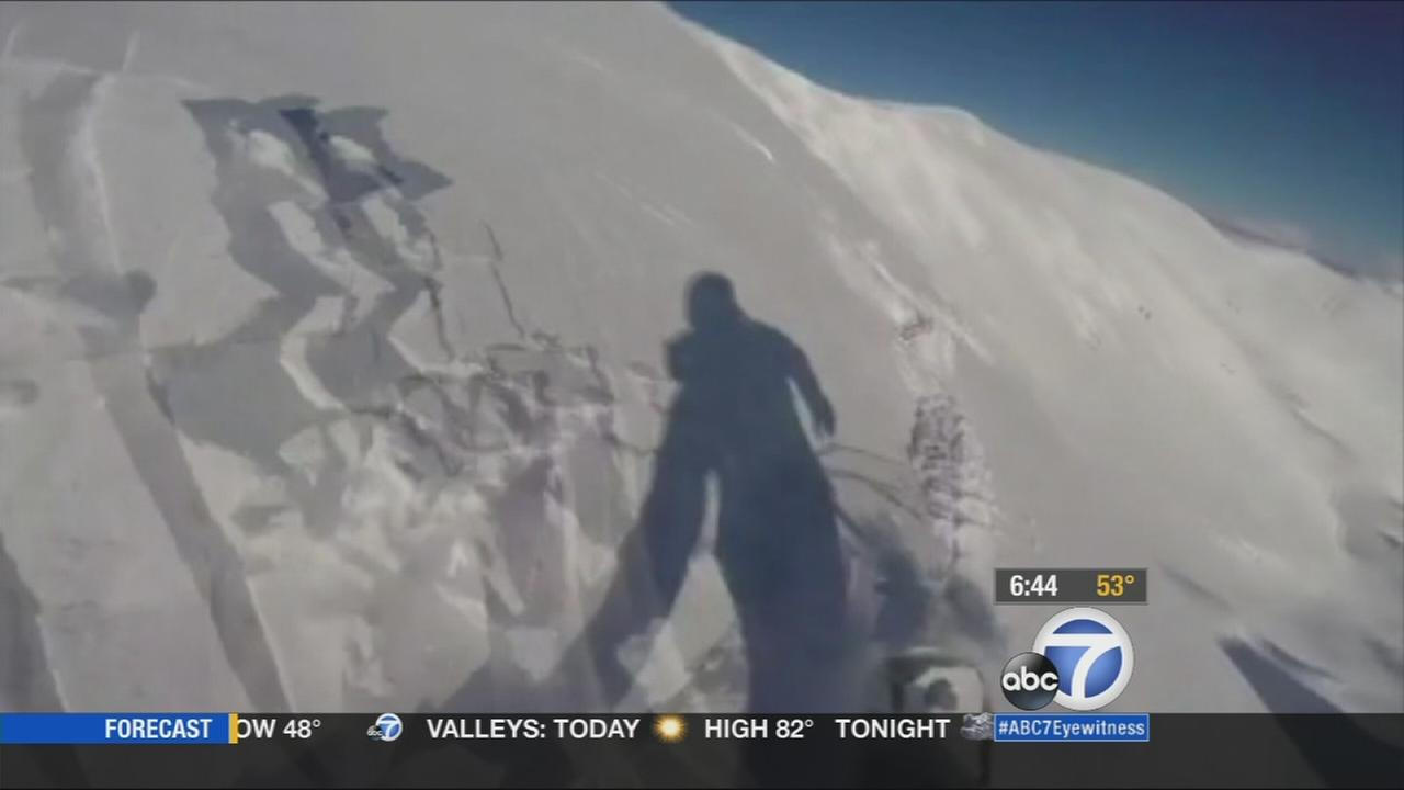 A Romanian mountain rescue volunteer and snow sports instructor Sorin Radu was caught in an avalanche Wednesday.