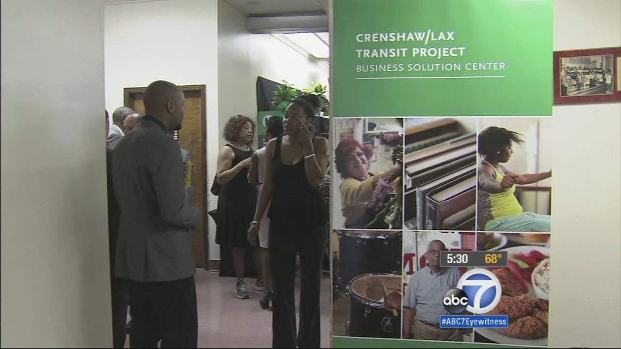 As construction begins on the Crenshaw/LAX Transit Project, businesses in the area are preparing for the worst.