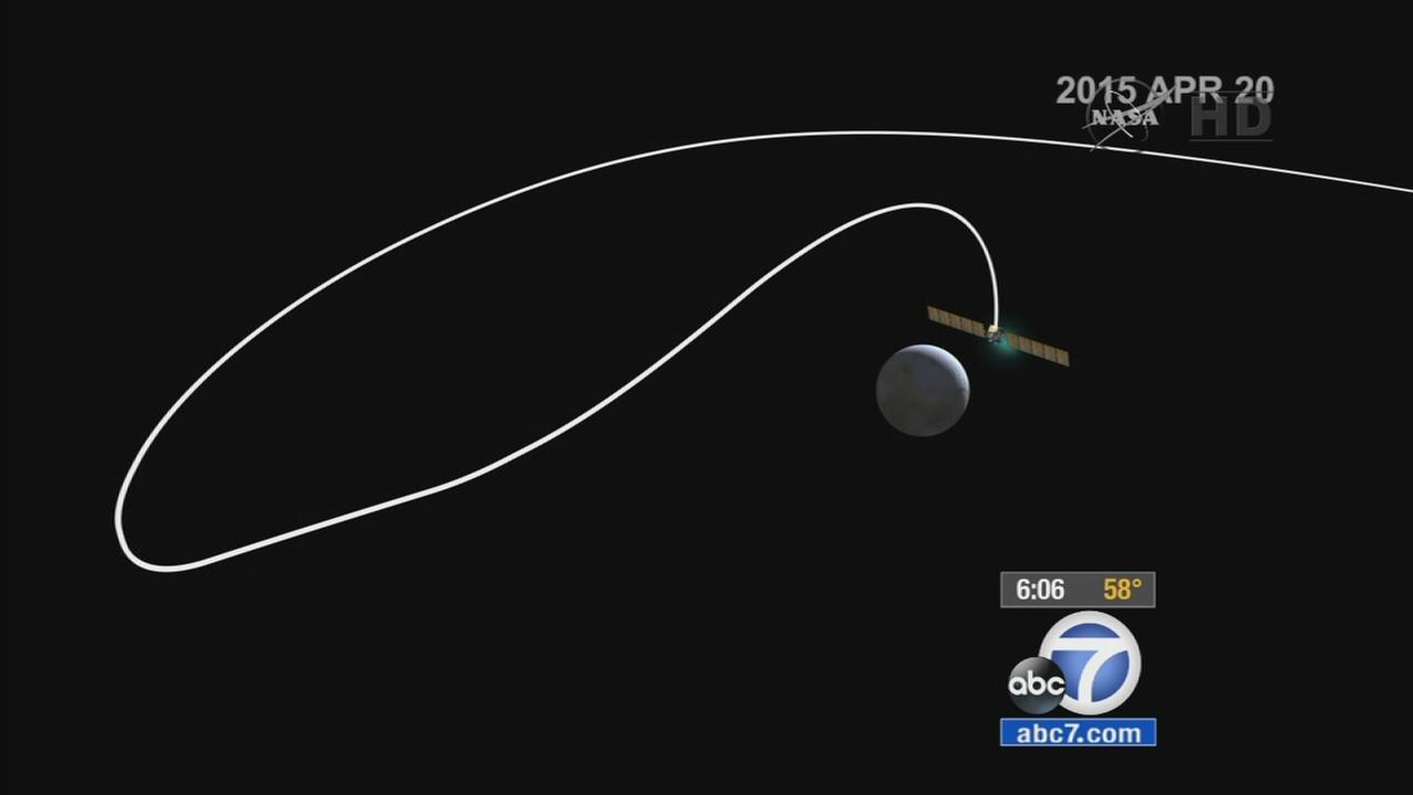 A NASA spacecraft is about to reach the end of a nearly eight-year journey and make the first rendezvous with a dwarf planet.