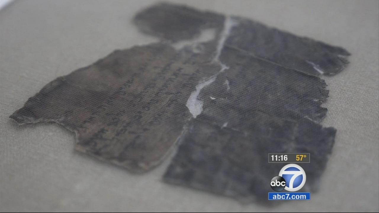 The Dead Sea Scrolls are coming to the California Science Center, but we got a sneak preview of the scrolls in their homeland.