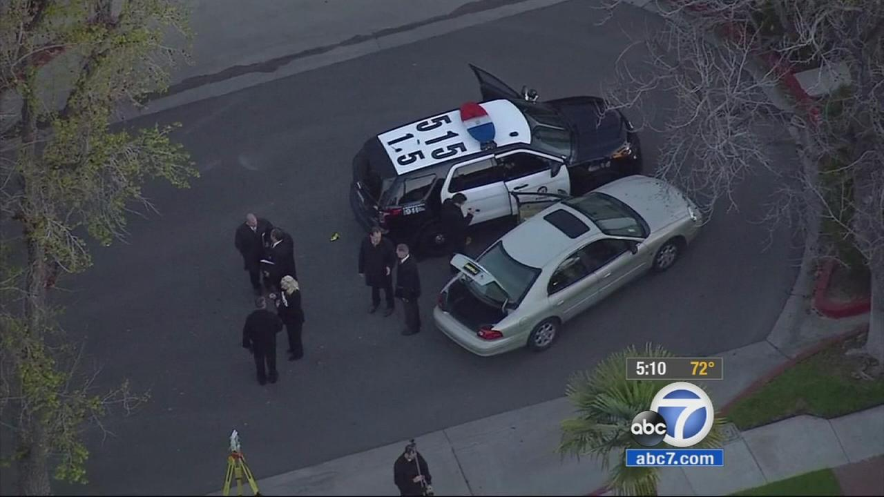 A suspected car thief is dead following an officer-involved shooting in Burbank after he led police on a chase that began in North Hollywood.
