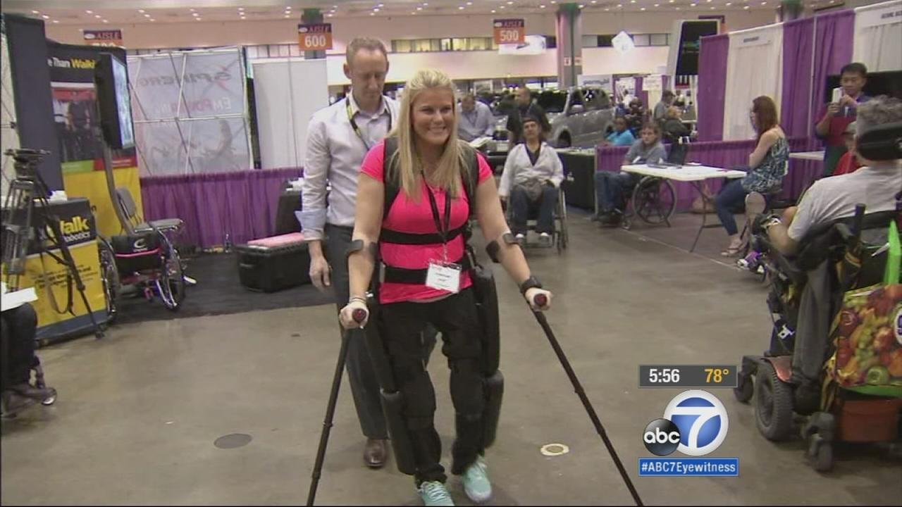 This weekend, the Los Angeles Convention Center hosts the Abilities Expo, an exposition offering the latest technologies for people with disabilities.