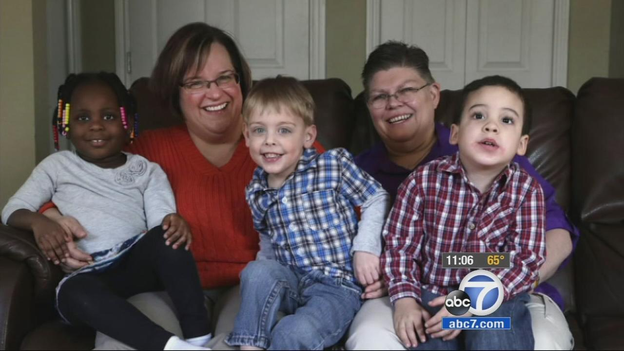 A Michigan couple is the latest case that puts children right at the heart of the same-sex marriage debate.