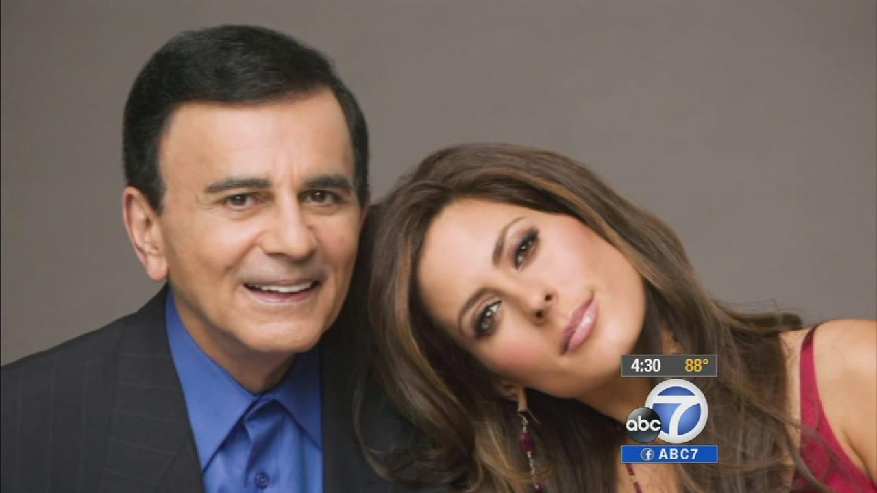 Casey Kasem is seen with his daughter, Kerri Kasem, in this undated file photo.
