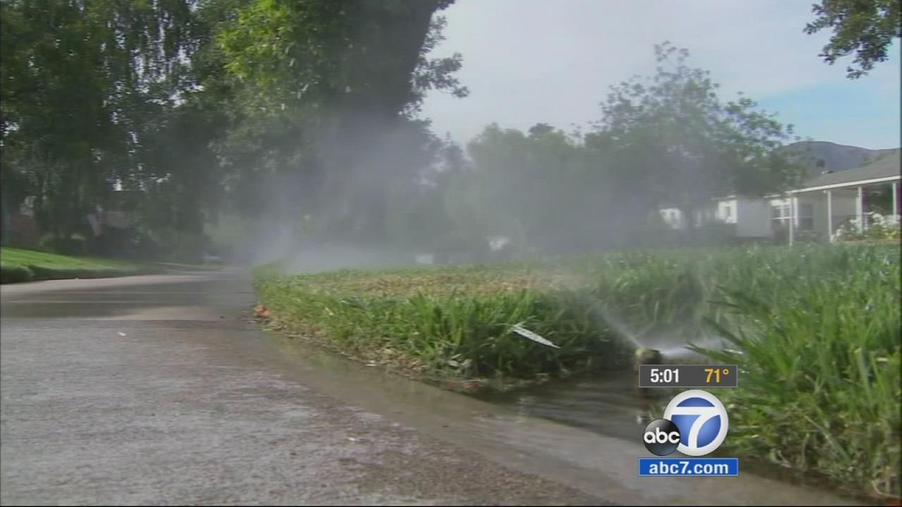 California residents have to turn off their sprinklers, and restaurants wont give customers water unless they ask under new drought regulations approved Tuesday.