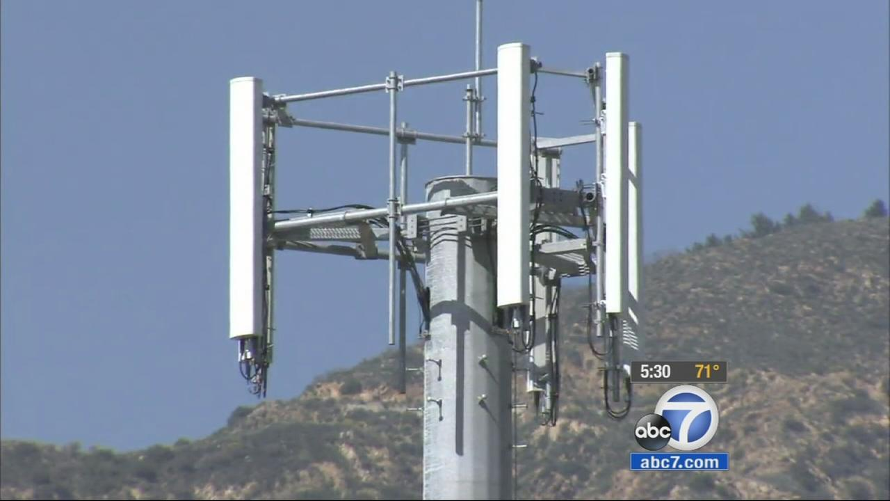 Los Angeles County Board of Supervisors approve motion to stop construction of cell towers at fire stations and request more research on the issue.