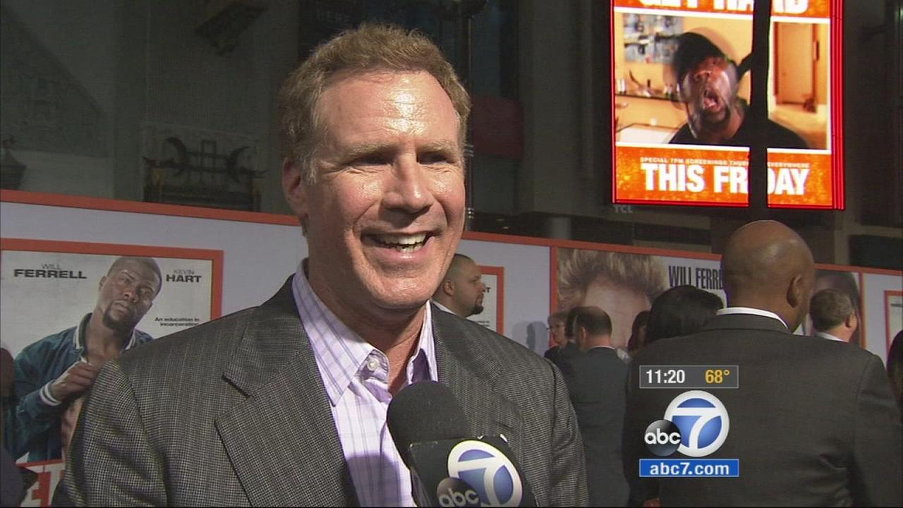 Will Ferrell and Kevin Hart tease that Get Hard is a controversial and outlandish comedy.