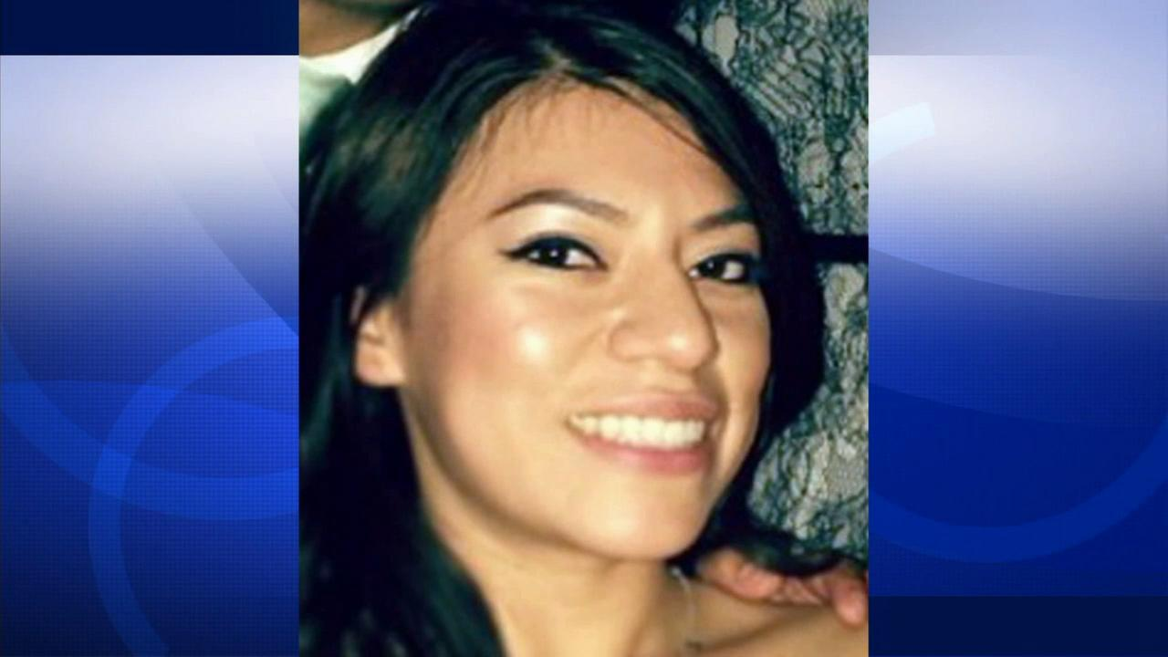 Erica Alonso, 27, is shown above in this file photo. She has been missing since Valentines Day.
