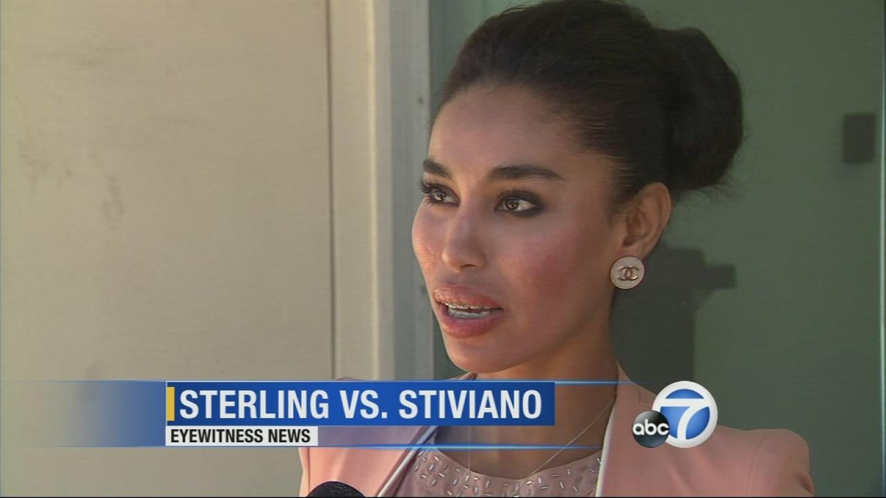 V. Stiviano speaks to Eyewitness News on Friday, March 27, 2015.