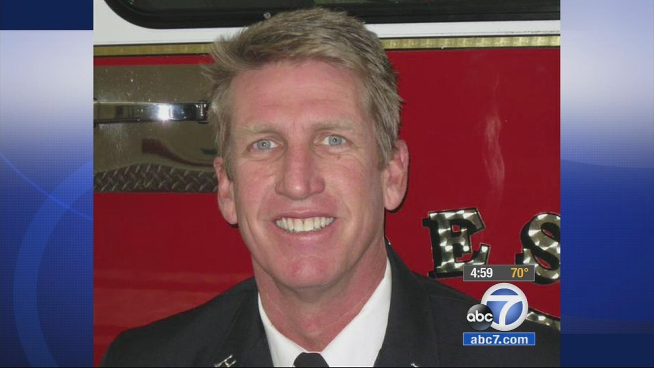Fresno Fire Capt. Pete Dern
