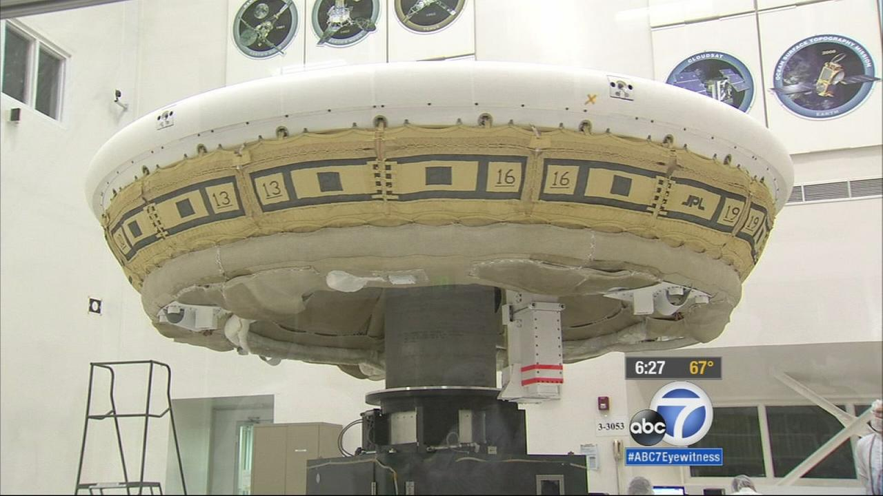 Flying saucers are the stuff of science fiction, but NASA is turning science fiction into just plain science at the Jet Propulsion Laboratory.