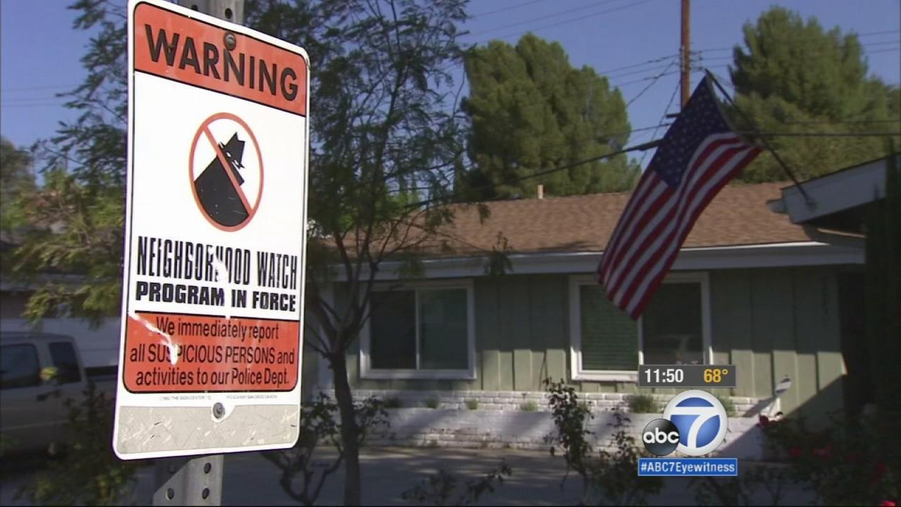 Burglars went on a crime spree in Woodland Hills, hitting several homes within a few hours on Wednesday.