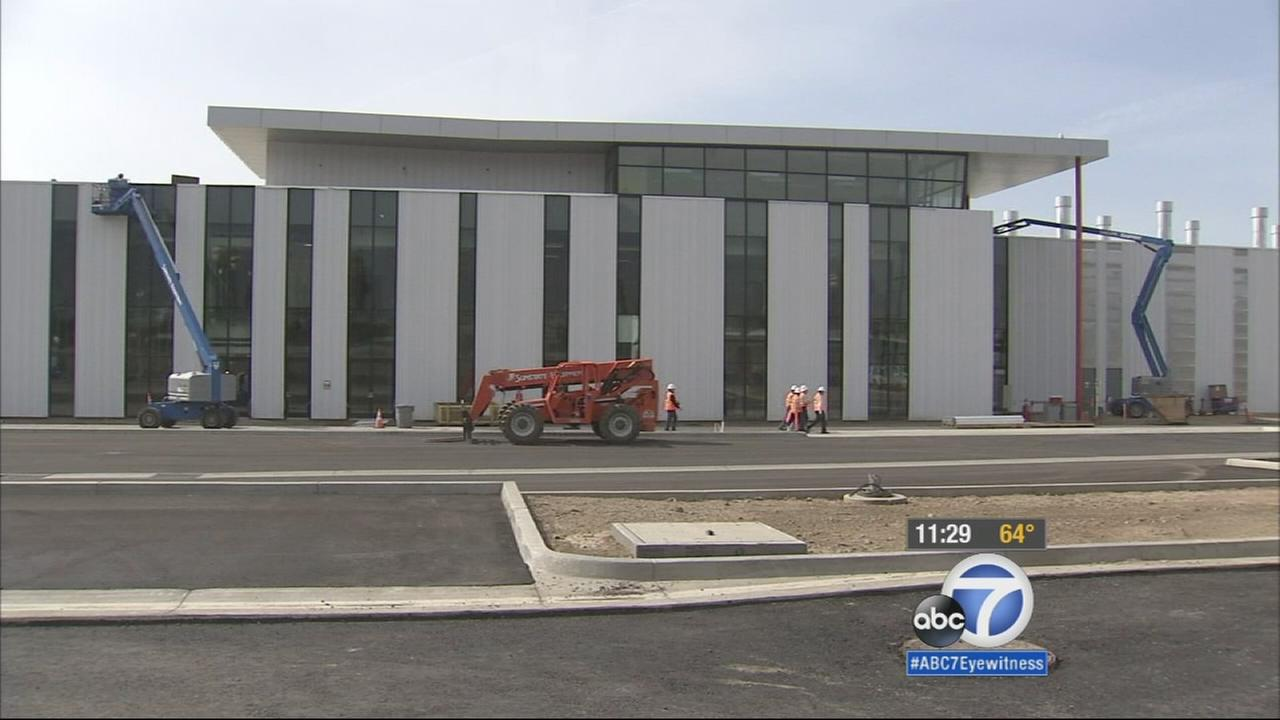 A building at the Gold Line campus is under construction on Friday, April 10, 2015.