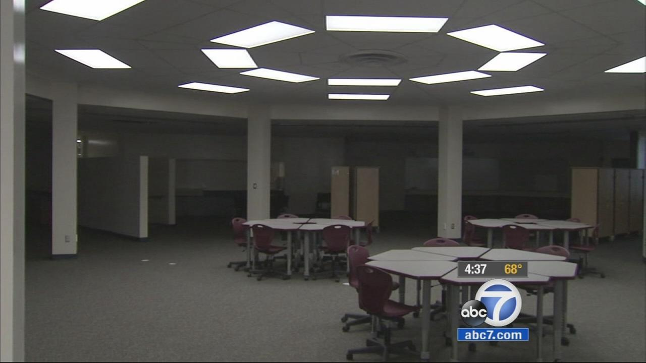 More than a year after a magnitude 5.1 earthquake rocked north Orange County, a Brea elementary school receives dozens of upgrades.
