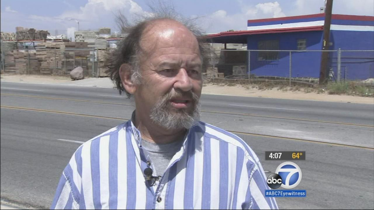 An Antelope Valley man is on a mission to find the hit-and-run driver who left him injured on the side of the road.