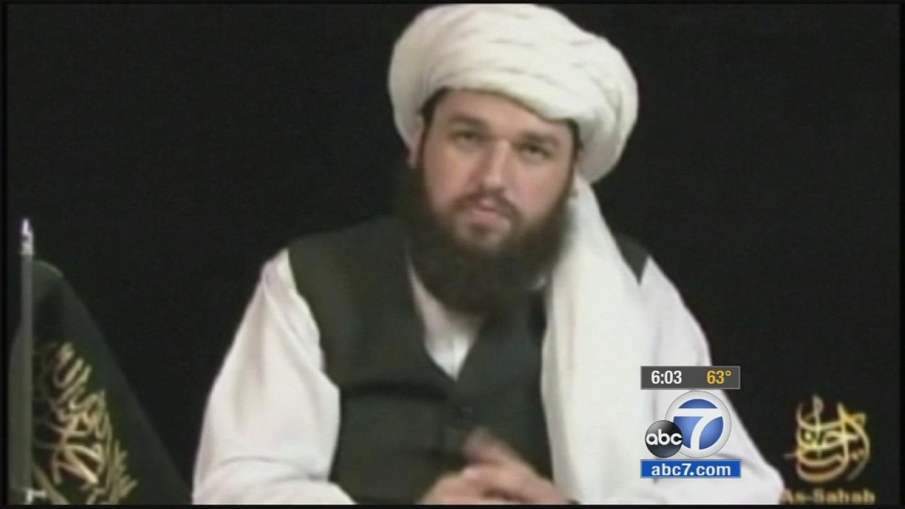 An Orange County man who referred to himself as Azzam the American in statements supporting al Qaeda was killed in a drone strike in Pakistan last January.