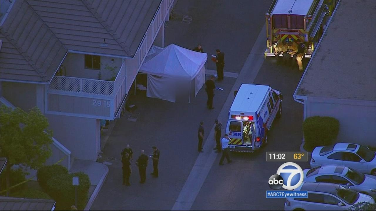 An ongoing neighbor dispute in Simi Valley ended in a fatal shooting Thursday night.