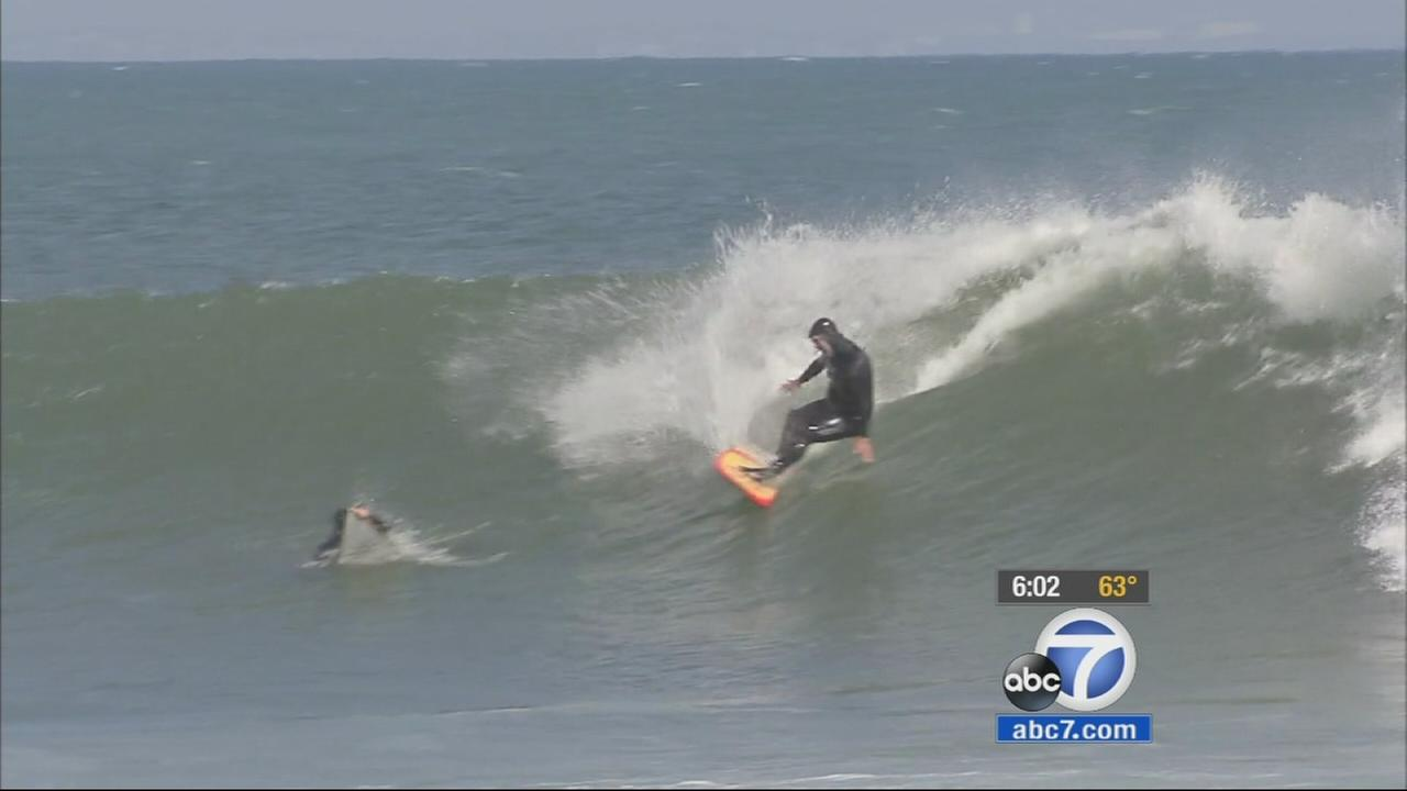 High Surf Advisory In Effect For Socal Beaches Until Tuesday