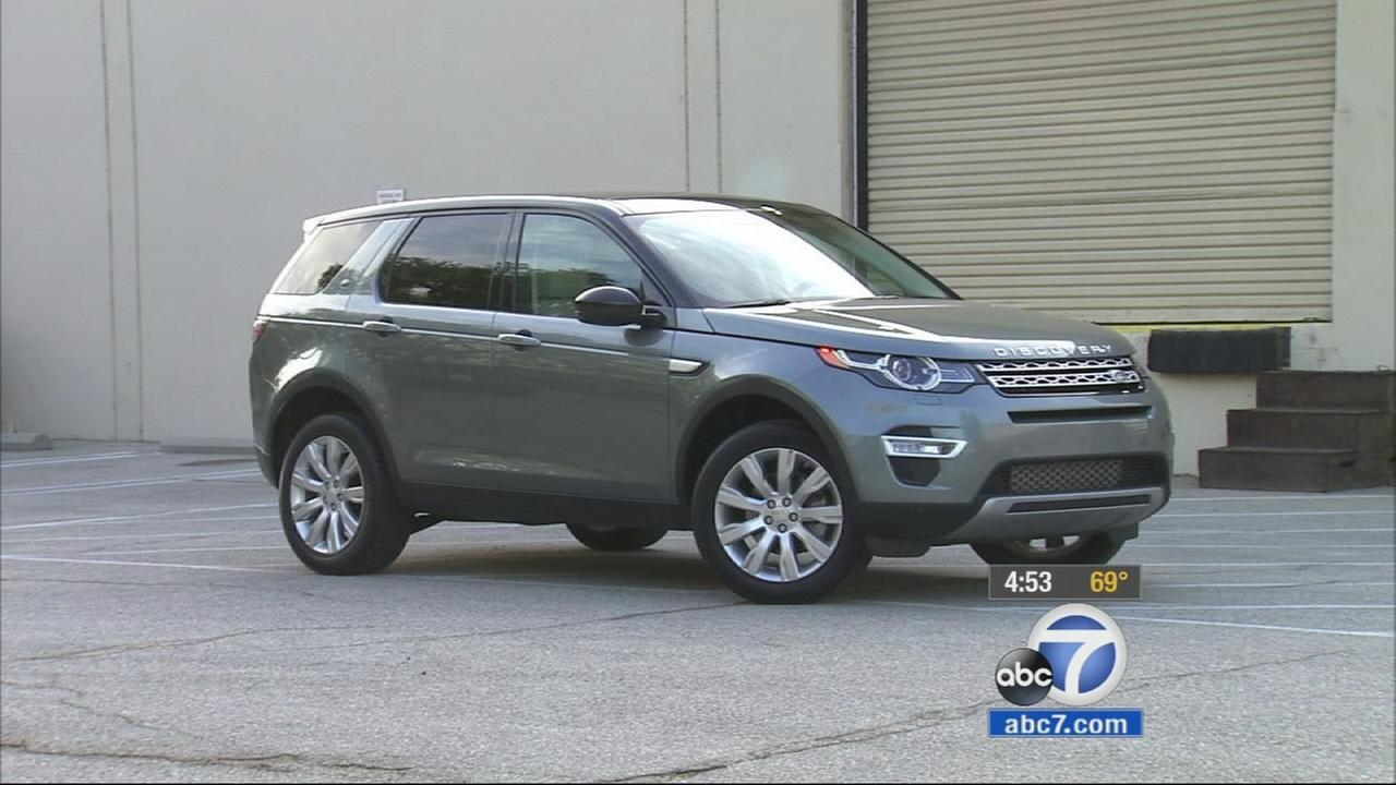 The Land Rover Discovery Sport is shown in this undated file photo.