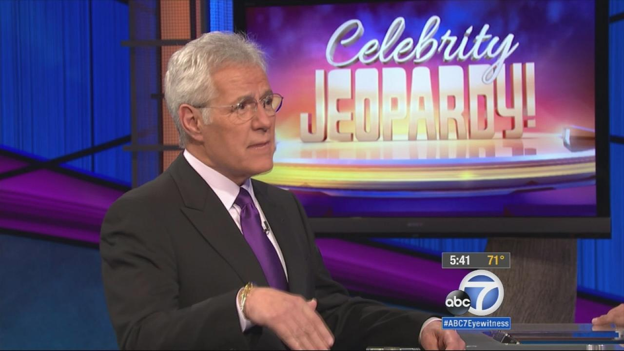 Alex Trebek is shown in this undated file photo.