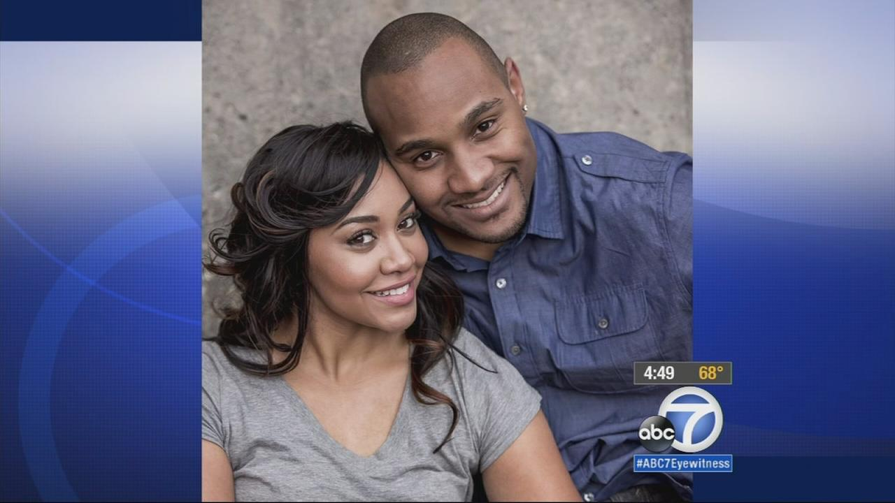 Jordan Ward and her fiance are shown in this engagement photo.