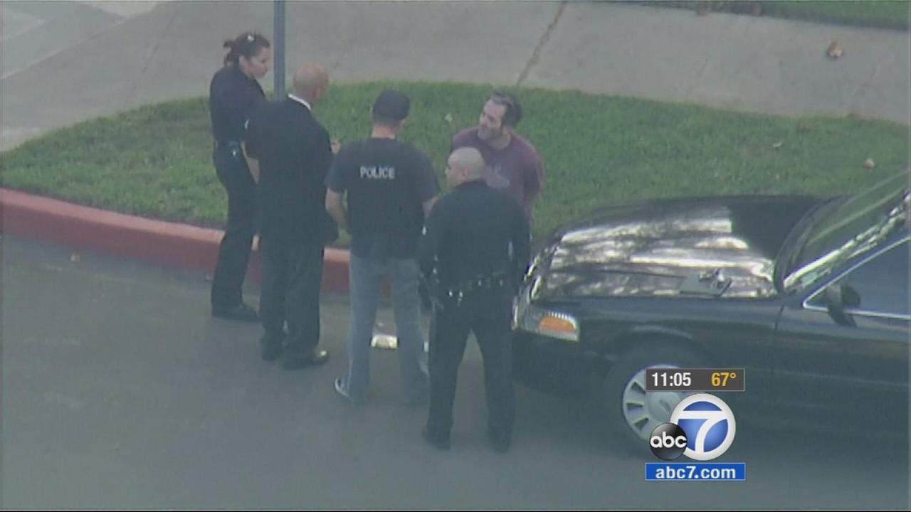 A police standoff in Studio City that forced an evacuation early Wednesday morning ended with a man in custody.