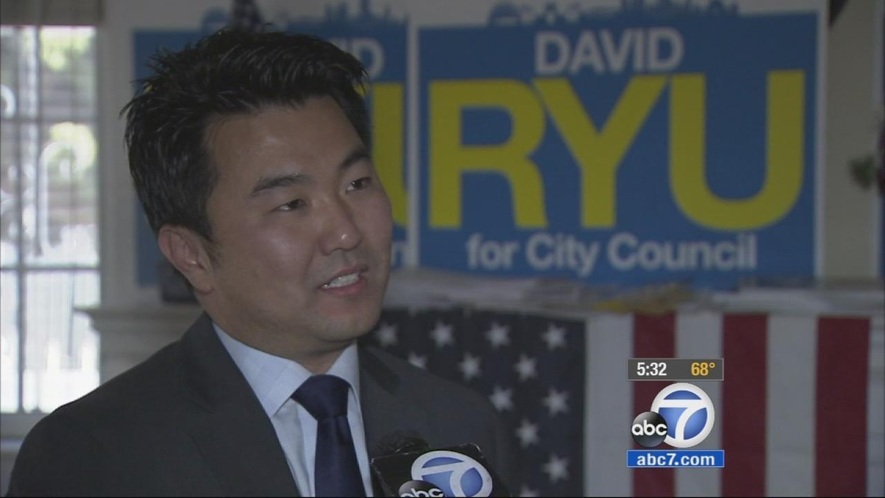 David Ryu talks to ABC7 on Wednesday, May 20, 2015.