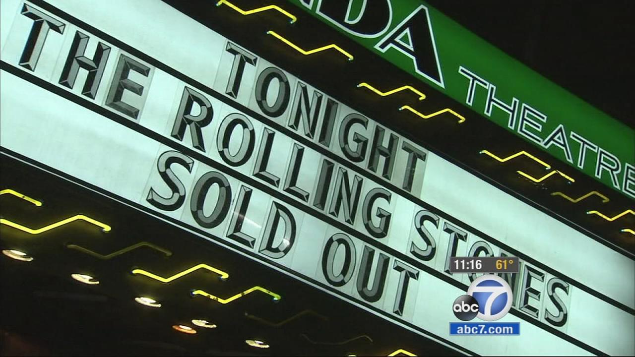 Tickets to what was supposed to be a surprise concert sold out within seconds after word got out that the Rolling Stones would be performing in LA at the intimate Fonda Theatre.