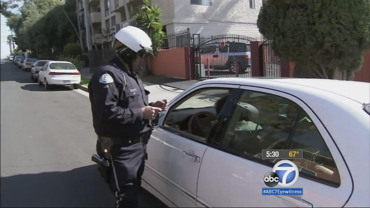Lawmakers are concerned about the huge fines for traffic tickets, and now, Californias top justice is weighing in.