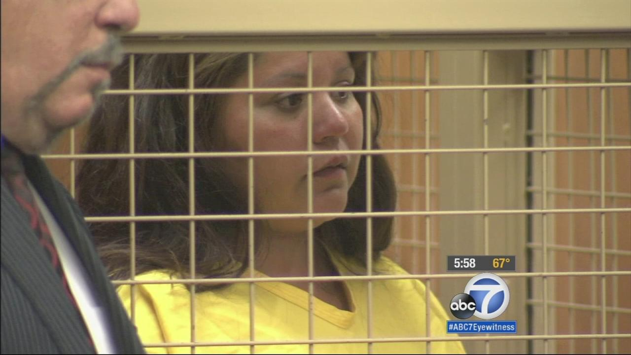 Michelle Betancourt, 23, is shown in court on Thursday, May 21, 2015.