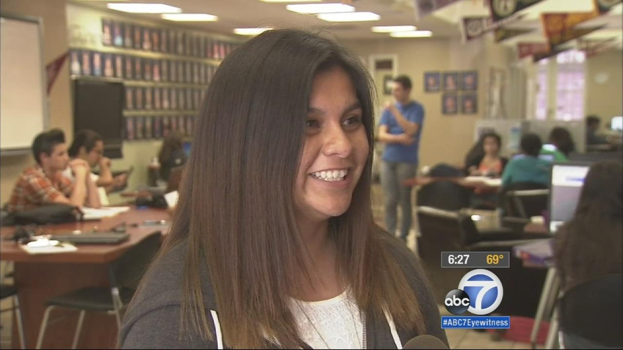 A Santa Ana teen, who was accepted to Harvard and received the Gate Millennium Scholarship, owes it all to the advice she got at the Nicholas Academic Center.