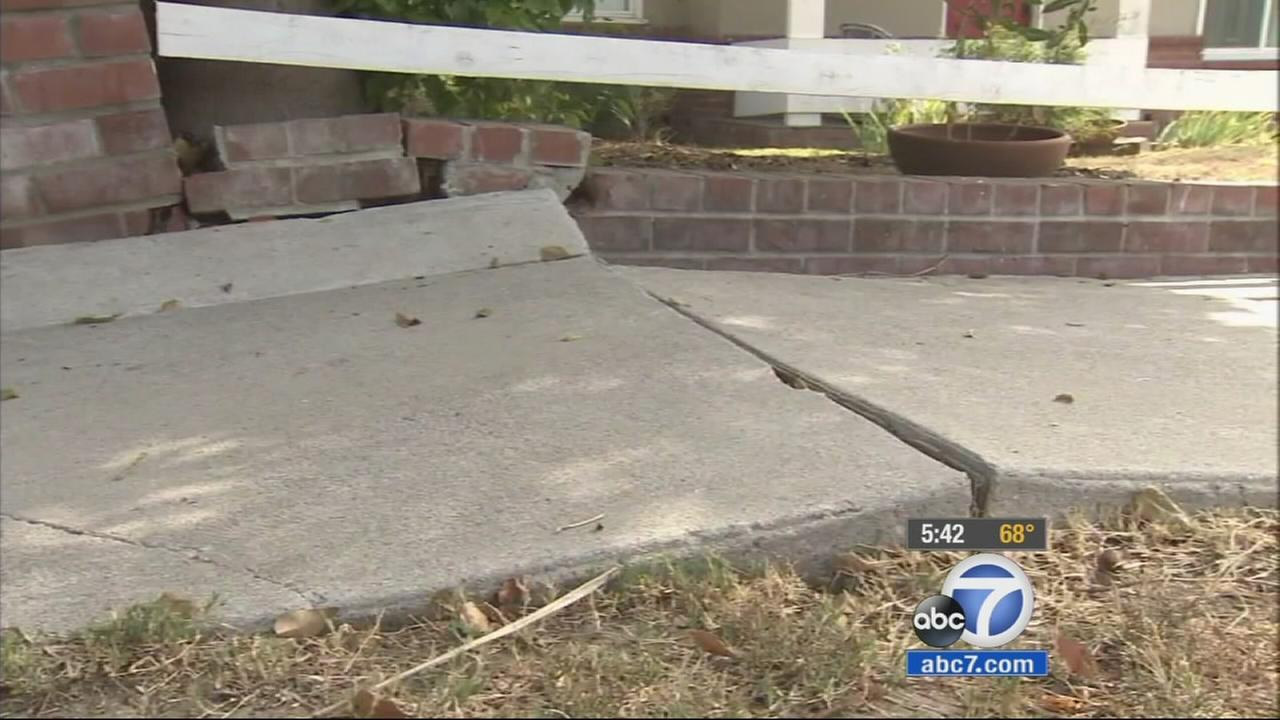 The Los Angeles City Council is considering a plan that would shift the burden for sidewalk repairs from the city to businesses and homeowners.