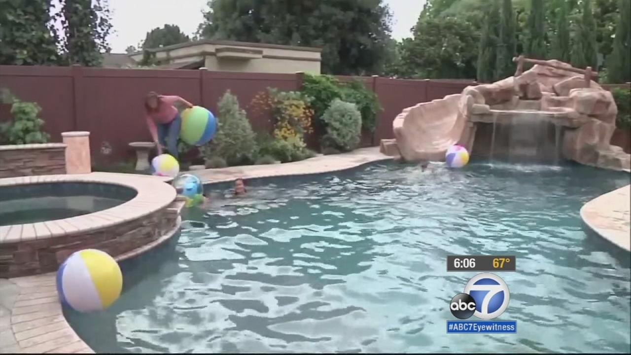Children love to swim in pools during summer, but pools are making California residents wonder if its a waste of water since the state is in a severe drought.