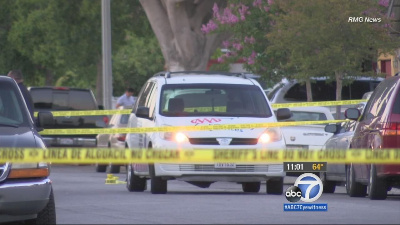 An AAA roadside assistance driver was stabbed to death Tuesday after helping a member in front of her Pico Rivera home.