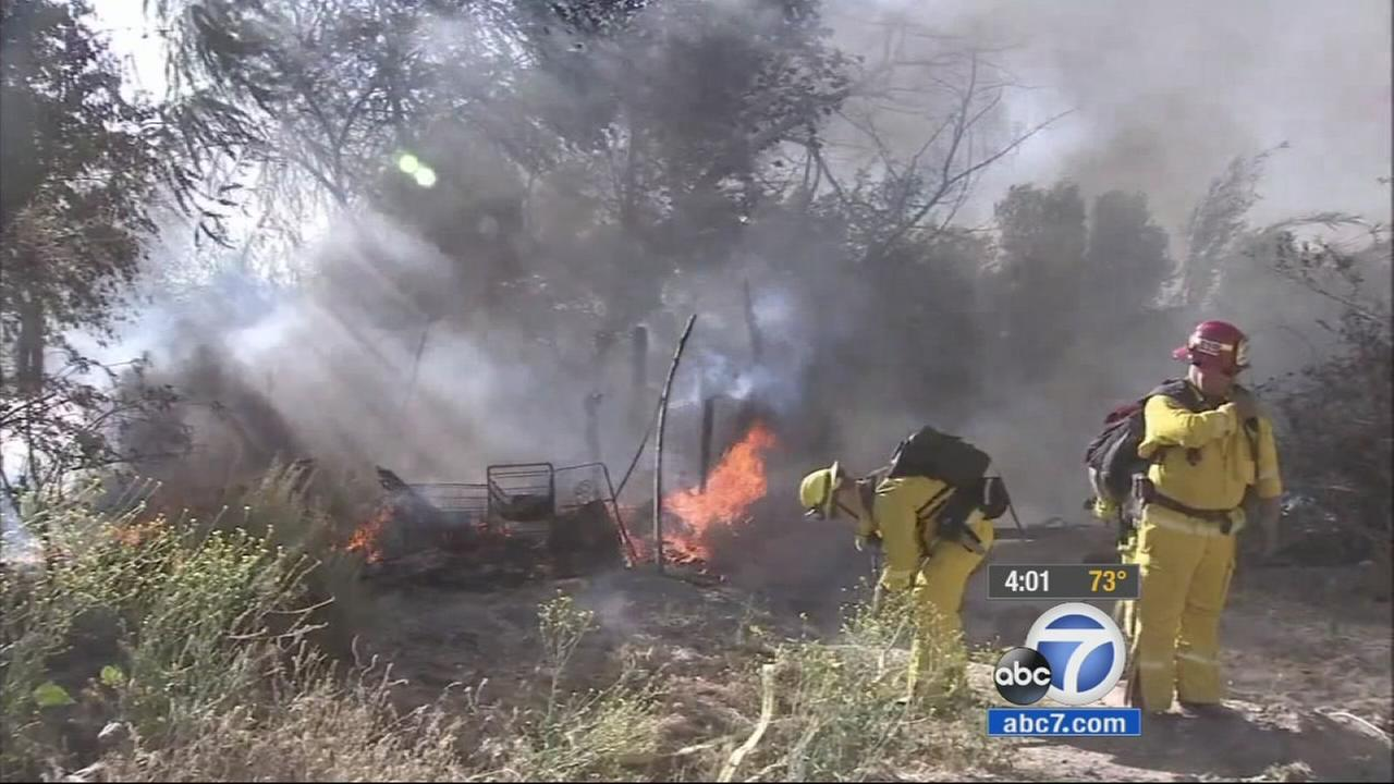 Fire officials are warning Californians of the potential dangers of this years fire season due to the drought.
