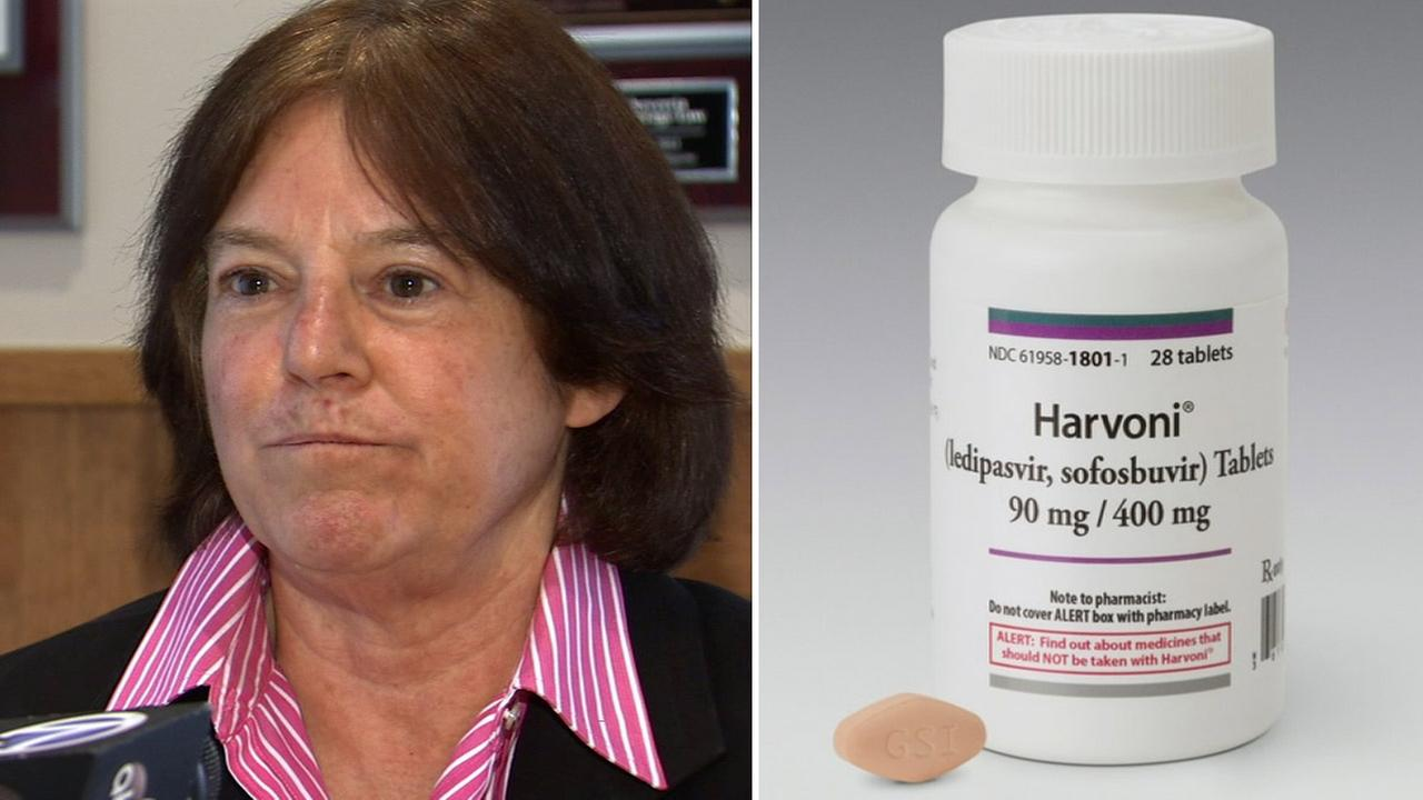 Jane Blumenfeld is suing Anthem Blue Cross for denying her coverage for a Hepatitis C drug called Harvoni.