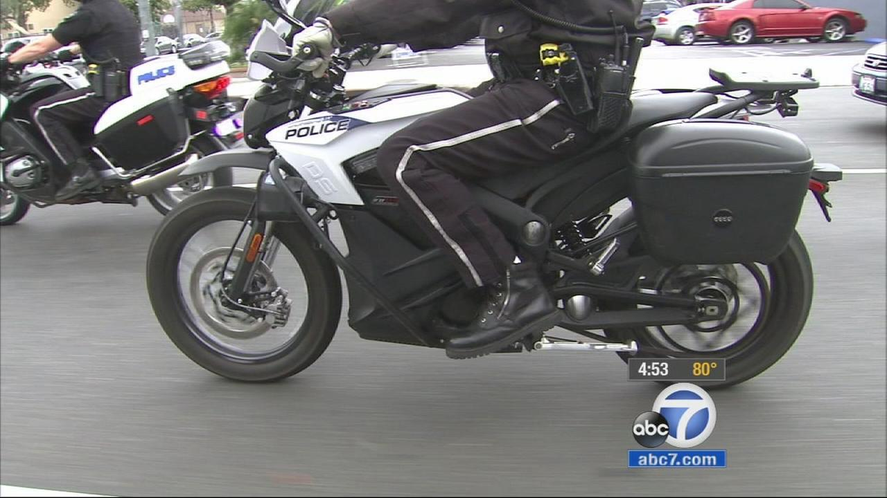 Burbank police have added a new electric motorcycle to its patrol fleet. Not only does the Zero motorcycle look different, it sounds different.