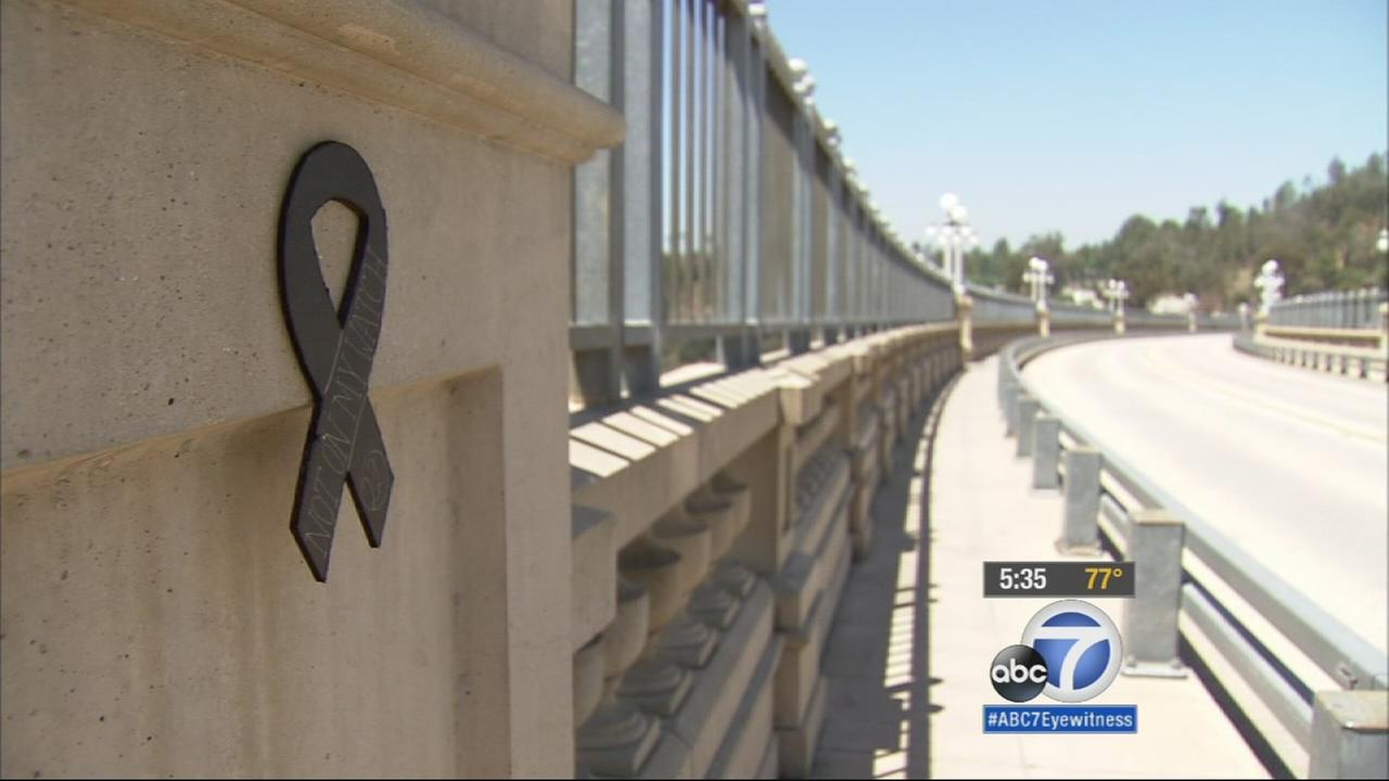 One of Pasadenas most recognizable landmarks is serving as a symbol for a serious concern.