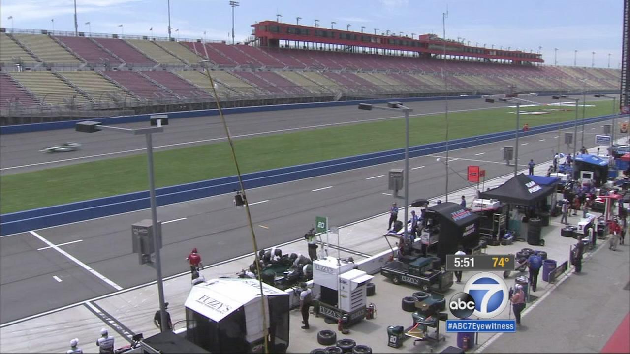 The IndyCar circuit returned to action with practice and qualifying races Friday at the Auto Club Speedway in Fontana.
