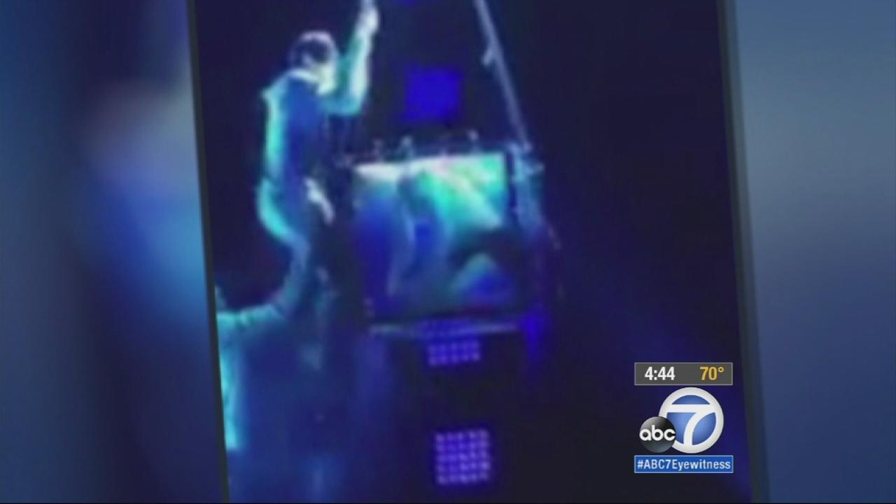 Criss Angels rescue of an escape artist trapped in a water-filled box was no illusion.